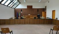Aula del gip in tribunale