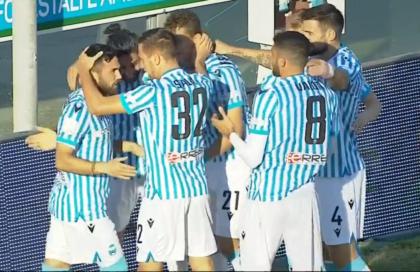 Castro segna e Berisha para. Spal vincente a Reggio Calabria