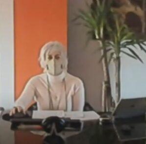 Monica Calami in videoconferenza