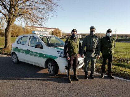 Polizia provinciale Ferrara Controlli Covid
