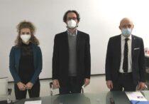 Giulia Zonta, Cesare Malagù, Giorgio Piacentini